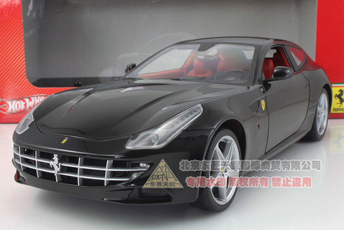 1/18 Hot Wheels Ferrari FF (Black) Diecast Car Model