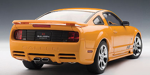 1/18 AUTOart SALEEN MUSTANG S281 EXTREME - ORANGE Diecast Car Model 73056