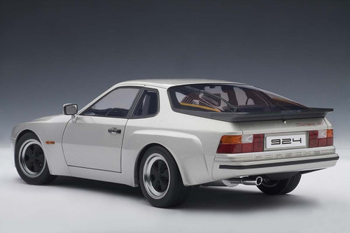 1/18 AUTOart PORSCHE 924 CARRERA GT 1980 - SILVER Diecast Car Model 78002