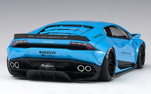 1/18 AUTOart LIBERTY WALK LB-WORKS LAMBORGHINI HURACAN (METALLIC SKY BLUE) Diecast Car Model 79122