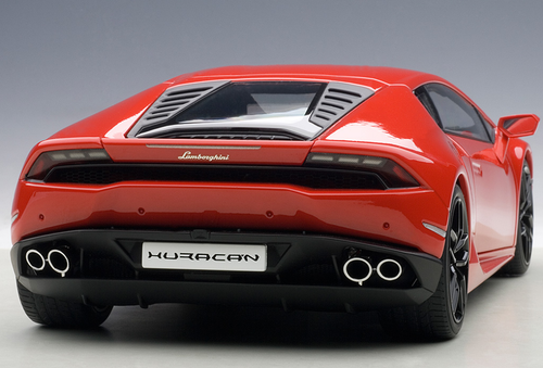 1/18 AUTOart LAMBORGHINI HURACAN LP610-4 (ROSSO MARS METALLIC/RED METALLIC) Diecast Car Model 74601