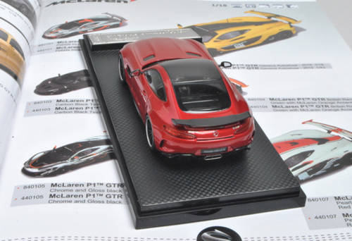 1/43 Almost Real AlmostReal Mercedes-Benz MB AMG GTR GT R (Red) Diecast Car Model Limited 299