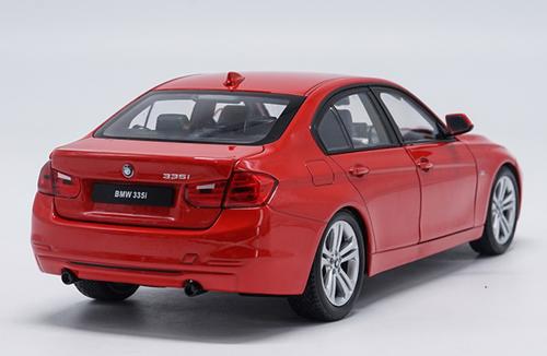 1/18 Welly FX BMW F30 3 Series 335i (Red) Diecast Car Model