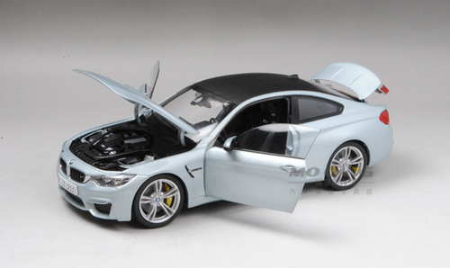 1/18 Paragon BMW F82 M4 (Silver Stone Blue) Diecast Car Model