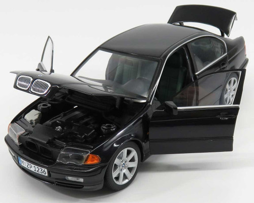 RARE 1/18 UT BMW E46 3 Series 328i (Black) Diecast Car Model