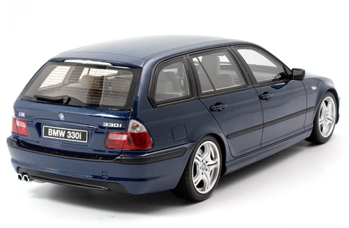 1/18 OTTO BMW E46 3 Series 330i Touring Wagon (Blue) Resin Car Model