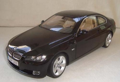 RARE 1/18 Kyosho BMW E92 3 Series 328i 335i (Black) Diecast Car Model