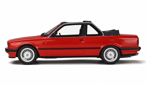 1/18 OTTO BMW E30 3 Series 325i Convertible (Red) Resin Car Model