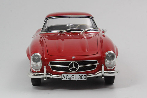 1/18 Minichamps Mercedes-Benz MB 1957 300SL 300 SL Roadster (Red) Diecast Car Model Limited 600