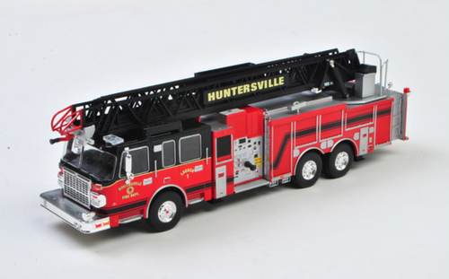 1/43 IXO SMEAL 105 Aerial ladder - US Firetruck 2014 - Huntsville Diecast Car Model