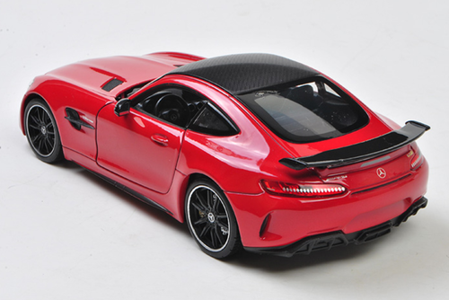 1/24 Welly FX Mercedes-Benz MB Mercedes AMG GTR GT R (Red) Diecast Car Model