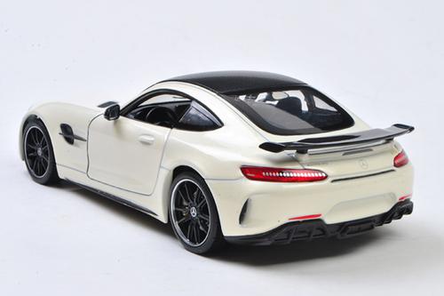 1/24 Welly FX Mercedes-Benz MB Mercedes AMG GTR GT R (White) Diecast Car Model