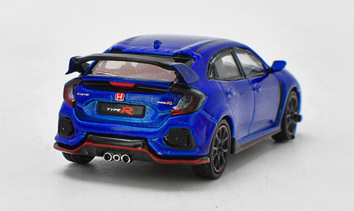 1/64 MINI GT MINIGT Honda Civic TypeR Type R FK8 (Blue) Diecast Car Model