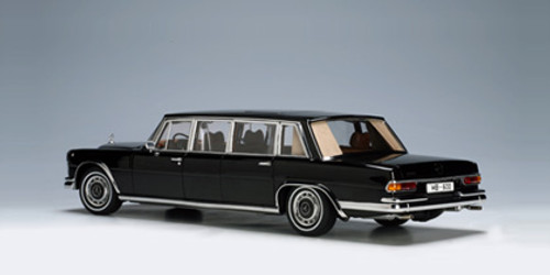 RARE 1/18 AUTOart MERCEDES-BENZ Maybach S600 LWB PULLMAN (BLACK) Diecast Car Model 76197