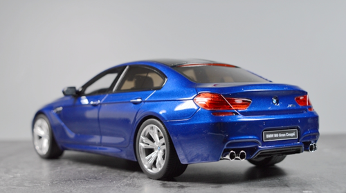 1/18 GT Spirit GTSpirit BMW F13 M6 Gran Coupe (Blue) Resin Car Model