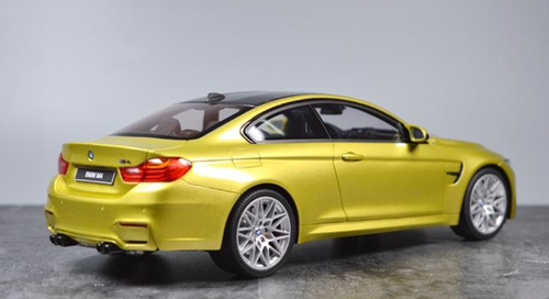 1/18 GT Spirit GTSpirit BMW F82 M4 Coupe Competition Package (Austin Yellow) Resin Car Model