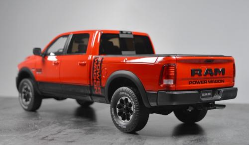 1/18 GT Spirit GTSpirit Dodge Ram 2500 Heavyduty (Red) Resin Car Model