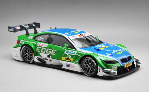 1/18 Minichamps BMW E92 DTM Team RBM Mampaey A.Farfus #16 Diecast Car Model