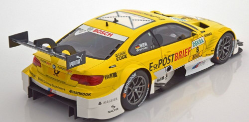 1/18 Minichamps BMW E92 DTM Team SCHNITZER N D. Werner #8 Diecast Car Model