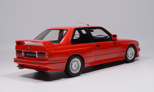 1/18 OTTO BMW E30 M3 (Red) Resin Car Model