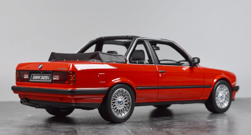 1/18 OTTO BMW E30 Baur 3 Series 325i (Red) Resin Car Model