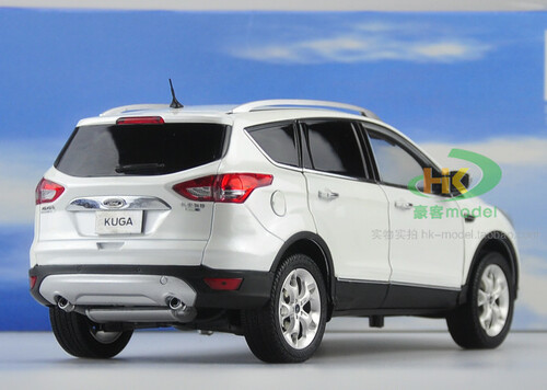 1/18 Dealer Edition Ford Escape / Kuga (White) Diecast Car Model