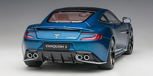 1/18 AUTOart ASTON MARTIN VANQUISH S 2017 (MING BLUE/CLUBSPORT WHITE PACK) Diecast Car Model 70274