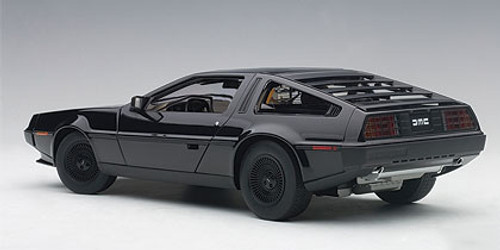 1/18 AUTOart DELOREAN DMC-12 DMC12 (METALLIC BLACK) Diecast Car Model 79917