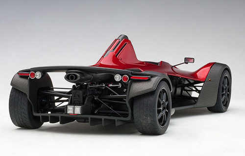 1/18 AUTOart BAC MONO (METALLIC RED) Diecast Car Model 18119