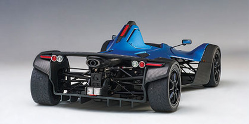 1/18 AUTOart BAC MONO (METALLIC BLUE) Diecast Car Model 18115