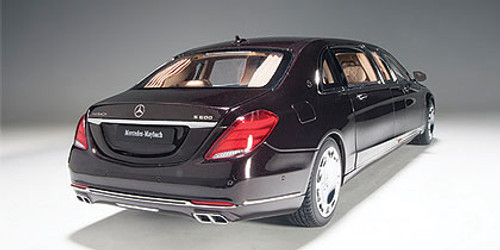 1/18 AUTOart MERCEDES MAYBACH S 600 S600 PULLMAN (DARK RED METALLIC) Diecast Car Model 76299