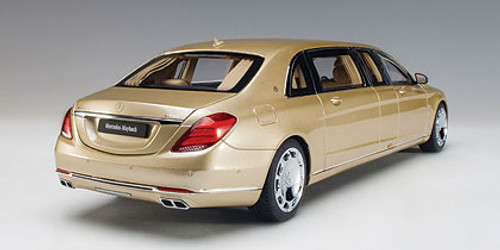 1/18 AUTOart MERCEDES MAYBACH S 600 S600 PULLMAN (GOLD) Diecast Car Model 76298