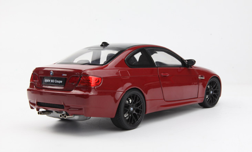 1/18 Kyosho BMW E92 M3 Coupe (Red) Diecast Car Model
