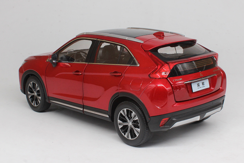 1/18 Dealer Edition Mitsubishi Eclipse Cross (Red) Diecast Car Model