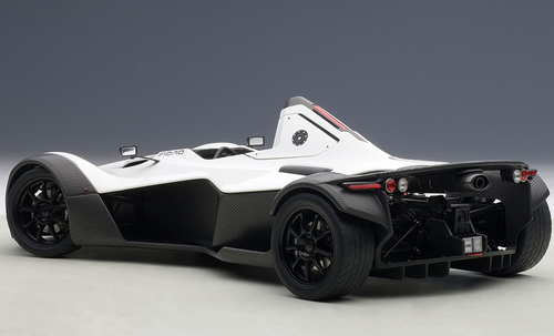 1/18 AUTOart BAC MONO (METALLIC WHITE) Diecast Car Model 18111