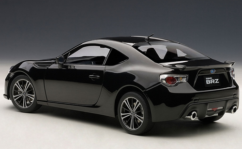 1/18 AUTOart SUBARU BRZ BR-Z (BLACK) Diecast Car Model 78692