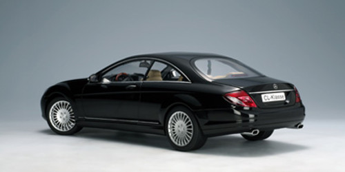 1/18 AUTOART MERCEDES-BENZ CL-CLASS CL-KLASSE COUPE (BLACK) Diecast Model 76165