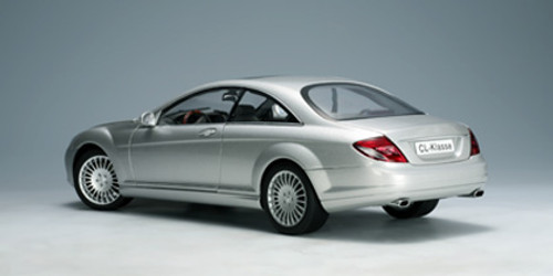 1/18 AUTOART MERCEDES-BENZ CL-CLASS CL-KLASSE COUPE (SILVER) Diecast Model 76164