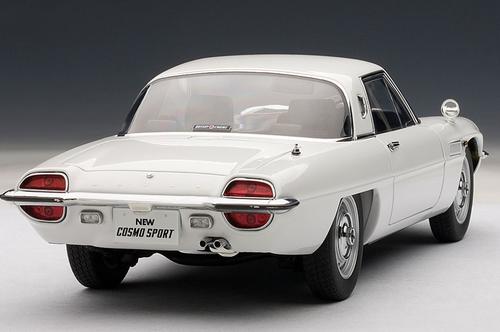 1/18 AUTOart MAZDA COSMO SPORT - WHITE Diecast Car Model 75931