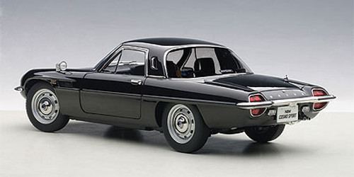 1/18 AUTOart MAZDA COSMO SPORT - BLACK Diecast Car Model 75937