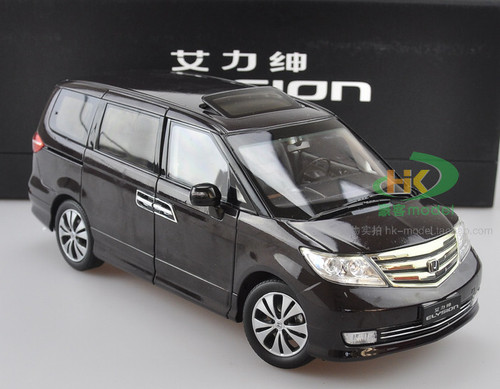 1/18 Dealer Edition Honda Elysion (Black) Diecast Car Model