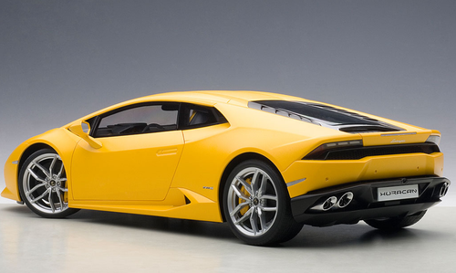 1/12 AUTOart LAMBORGHINI HURACAN LP610-4 (GIALLO HORUS/MATT YELLOW) Diecast Car Model 12097