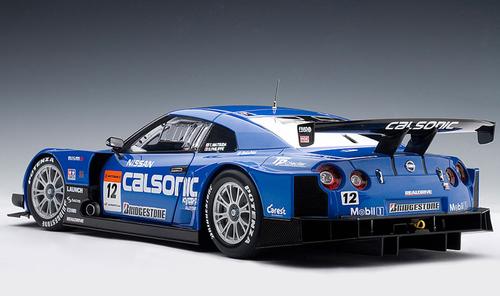"1/18 AUTOart NISSAN GTR GT-R SUPER GT 2008 ""CALSONIC IMPUL #12 Diecast Car Model 80877"