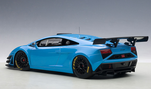 1/18 AUTOart 1/18 LAMBORGHINI GALLARDO GT3 FL2 2013(BLUE)(2 DOOR OPENINGS) Diecast Car Model 81359