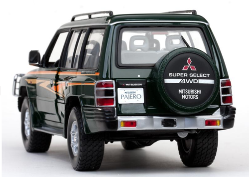 1/18 Sunstar 1998 MITSUBISHI PAJERO LWB Long Wheel Base 3.5 V6 (Green) Diecast Car Model