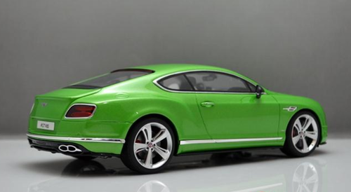 1/18 GT Spirit GTSpirit Bentley Continental GT V8 (Green) Resin Car Model Limited