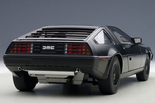 1/18 AUTOart DELOREAN DMC-12 DMC12 (MATTE BLACK) Diecast Car Model 79912