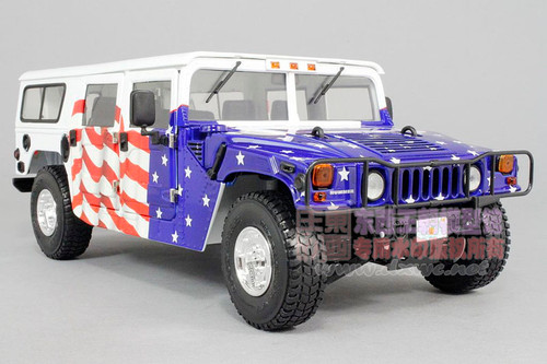 1/18 Exoto Hummer Humvee H1 United States President Bush Edition Diecast Car Model
