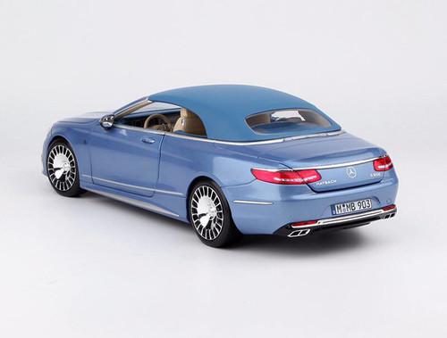 1/18 Dealer Edition Mercedes-Benz MB Maybach S-Class S-Klasse S650 Coupe Convertible (Blue) Diecast Car Model