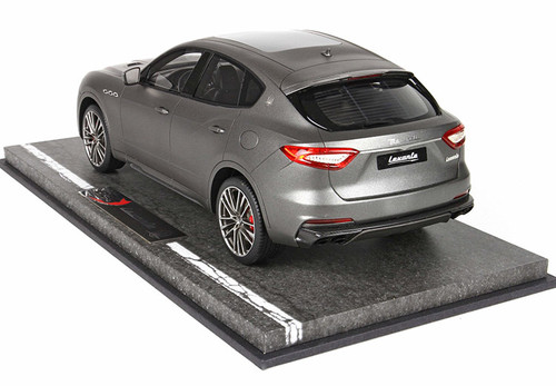 1/18 BBR Maserati Levante Trofeo (Matte Grey) Resin Car Model